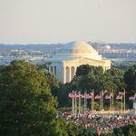 Jefferson memorial with