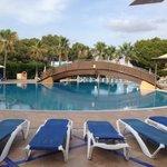 Pool in back of hotel El Cid