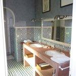 salle de bain hammam