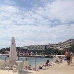 Hotel and beach bar