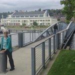 The bridge to the museum