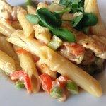 För barnet: vällagad jättegod pasta med grönsaker