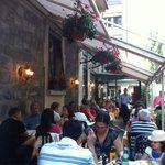Street side terrace is open all Summer.