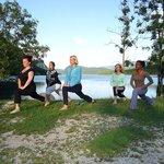 yoga in ukanc at hotel stare