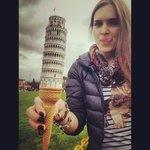 Pisa ice-cream