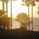 sunset at Ngala