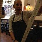 Javier the best waiter!