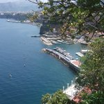 View from the terrace.Marina Grande