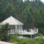 terrasse sur l'île
