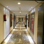 Hallway in floor
