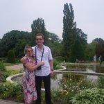 W Botanicher Garten w Berlinie , Ja i  Frank