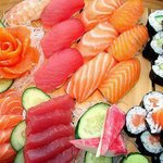Assortment of some of our delicious sushi!