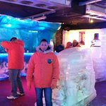 Interior do Ice Bar