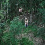 The guides help you navigate the ziplines with ease