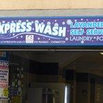 Self service laundry on the Via Nazionale