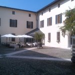 Pallazo Courtyard