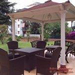 Good garden terrace