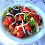 Santori salad.