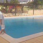 Небольшой бассейн гостиницы