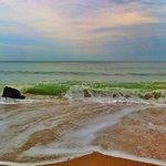 Visual da Praia. Mar aberto.