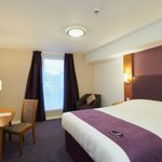 One of great Premier Inn bedrooms.