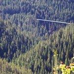 Trestle on the Hiawatha Mountain Bike Trail