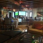 Bar at Hilton next door - where we watched World Cup games