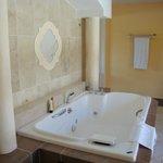 bañera suite