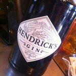 We also serve Hendrick's Gin Tonic