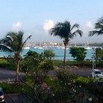 facing the Marina from the Hilton