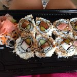 Crab sushi