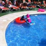 loving the pool