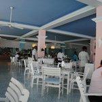The main buffet restaurant.