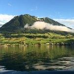 view on Lake Luzern