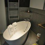 Salle de bains de la chambre Jade