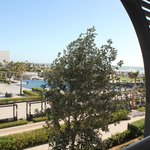Der Blick vom Balkon