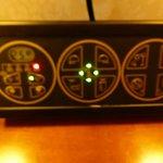 pannello controllo luci/clima