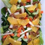 My amazing salad at El Coffee!