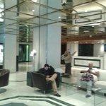 el hall del hotel