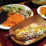 Taco Plates w/ Elote