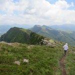 Top of Iparla Ridge