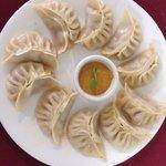 Nepali steamed dumplings