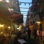Bares nas ruas do bairro Alto