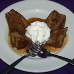 Our home made Sticky Toffee pudding.
