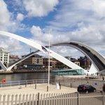 Bridge when it's tilted