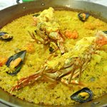 Spiny Lobster Paella
