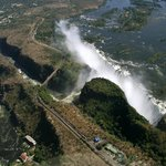 View of Victoria Falls from the Air