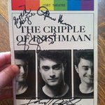 my (signed!) Playbill