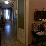 Corridoio verso la sala colazione
