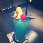 $5 blue hawaiian cocktail at the Hard Rock - this will blow your mind! So tasty :)